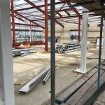 Steelwork Painting at St. Giles Hotel, Heathrow